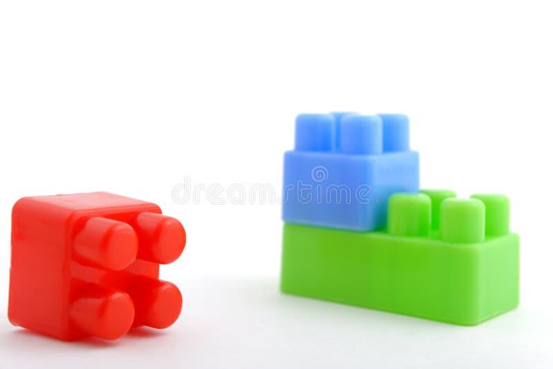 plastic tegelstenar arkivbild