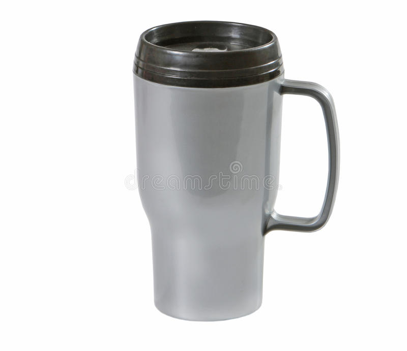 Plastic thermo cup royalty free stock image
