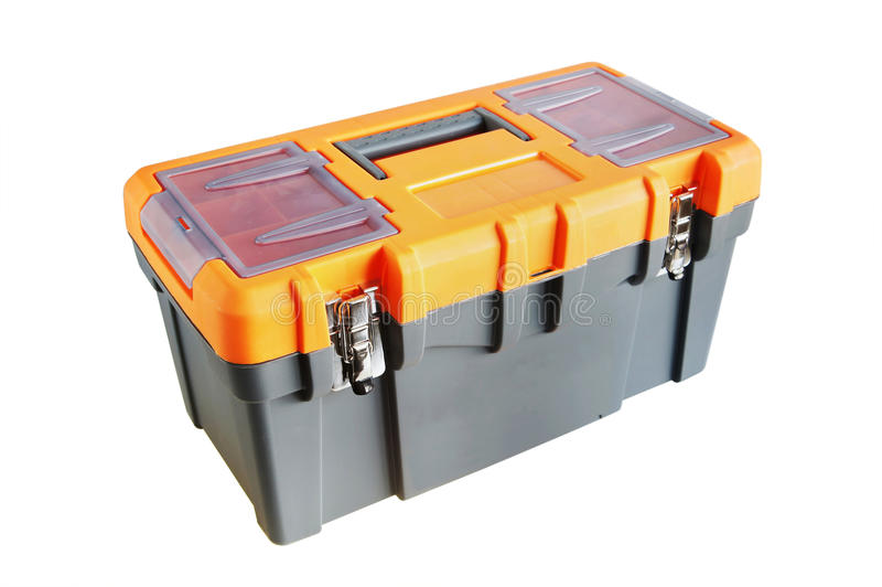 Download Plastic tool box stock photo. Image of background, industrial - 23081544