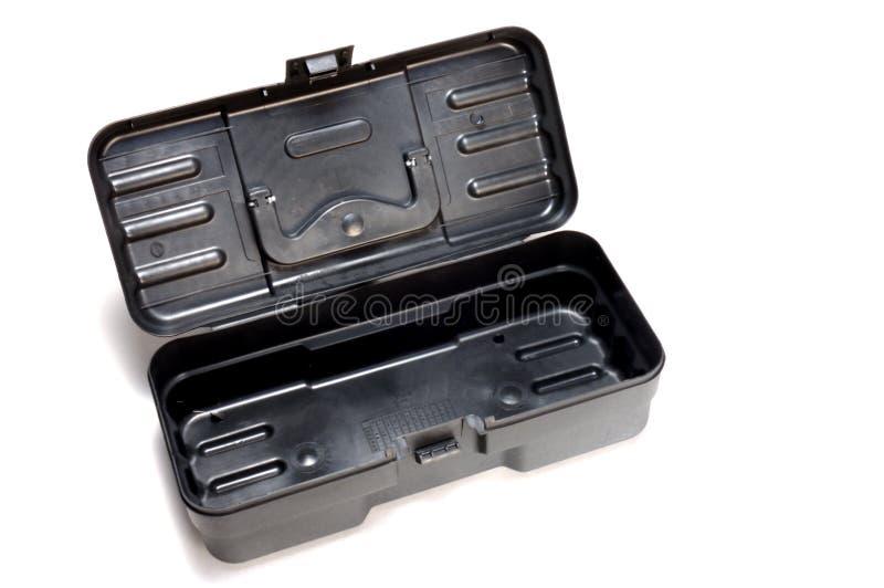 Plastic toolbox opened