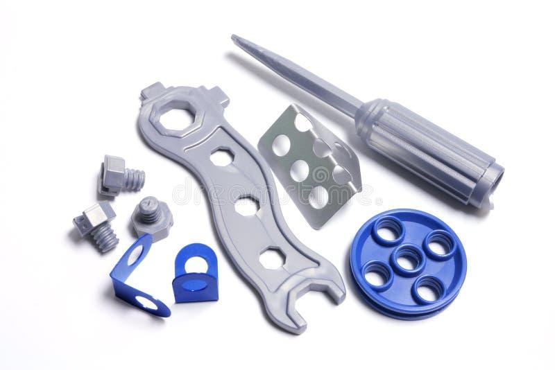 Plastic Toy Tools royalty free stock photo