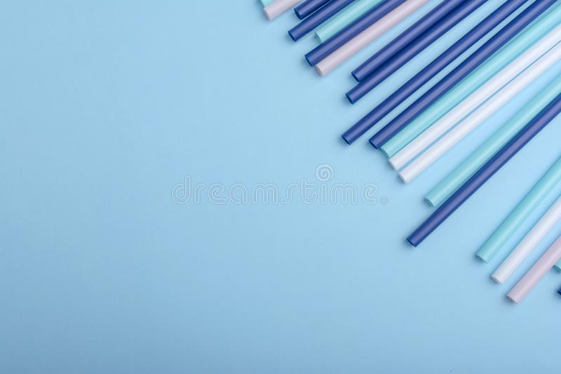 Plastic tubes can use as background in design. royalty free stock photos