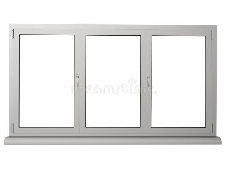 Plastic venster vector illustratie