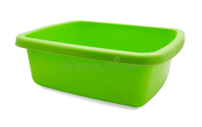Plastic washbowl royalty free stock photos
