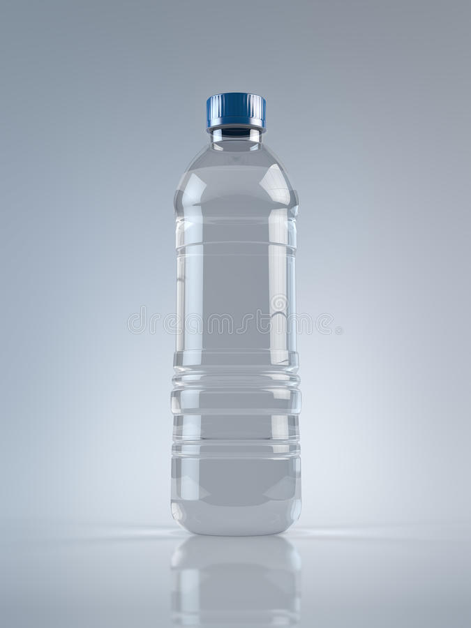 Plastic Water Bottle Royalty Free Stock Photography