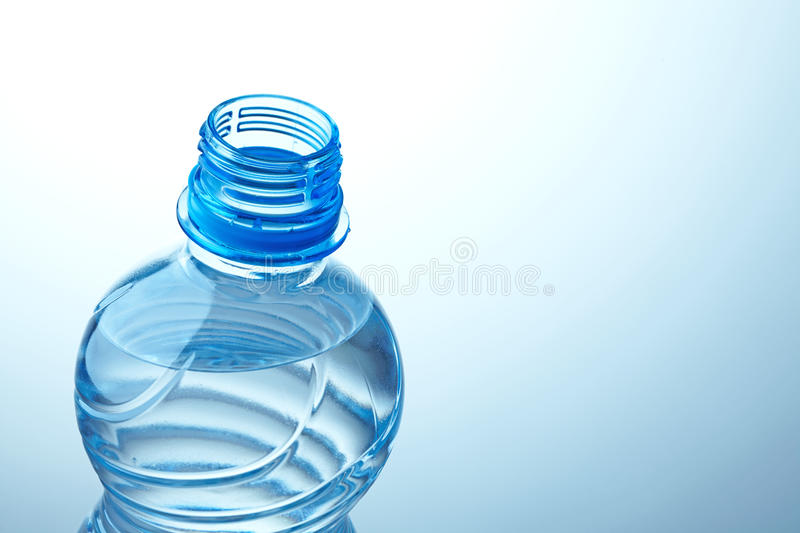 Plastic Water Bottle Stock Images