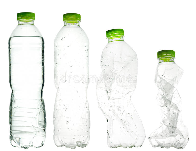 Download Plastic water bottles stock image. Image of recycling - 26817927