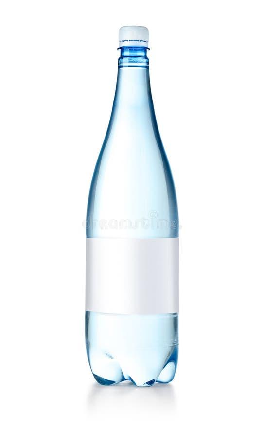 Plastic waterfles royalty-vrije stock foto