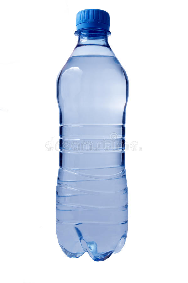 Plastic waterfles. royalty-vrije stock fotografie