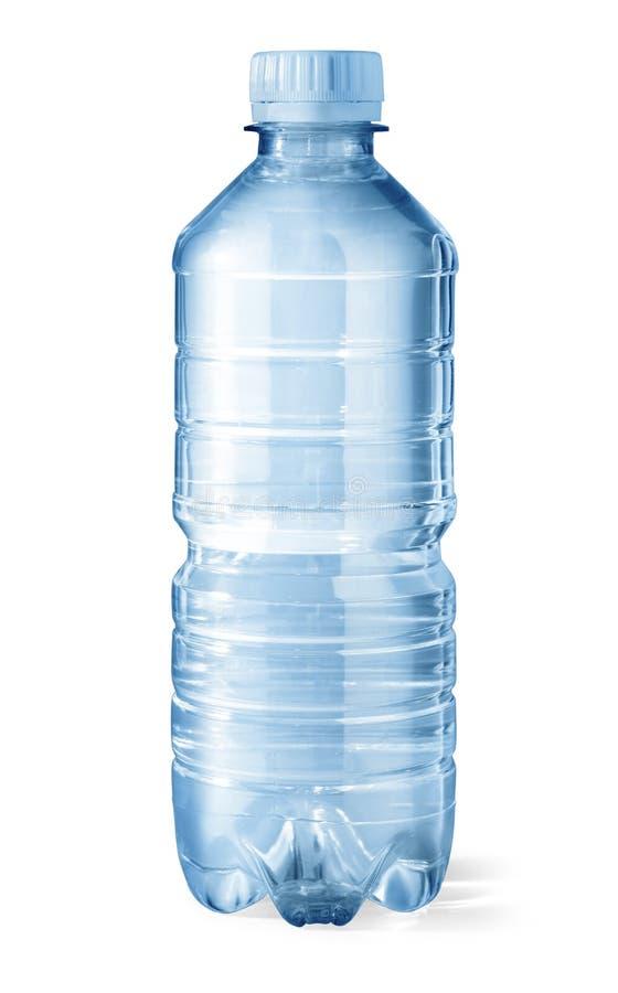 Plastic waterfles royalty-vrije stock afbeelding
