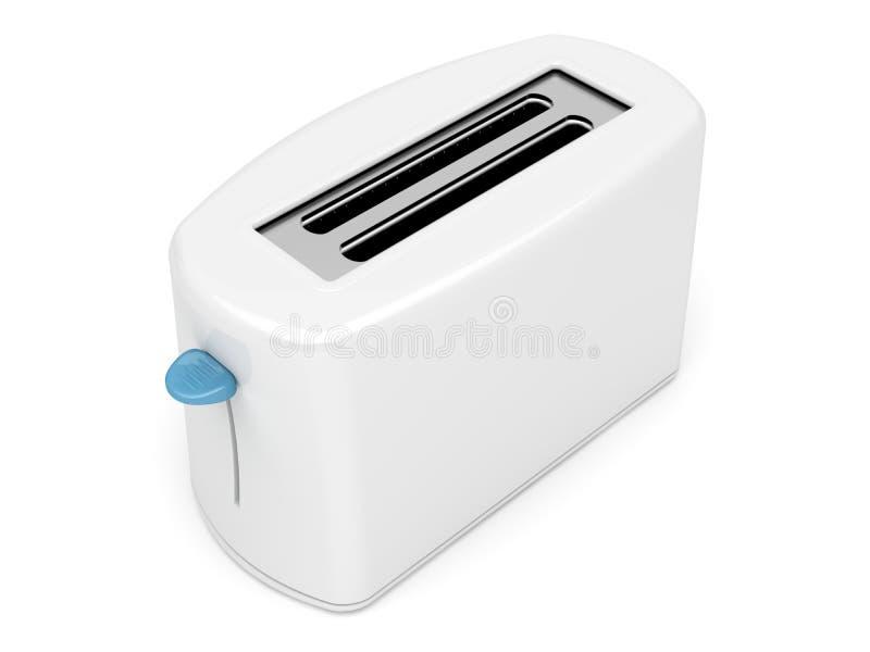 Download Plastic white toaster stock illustration. Image of utensil - 23981709