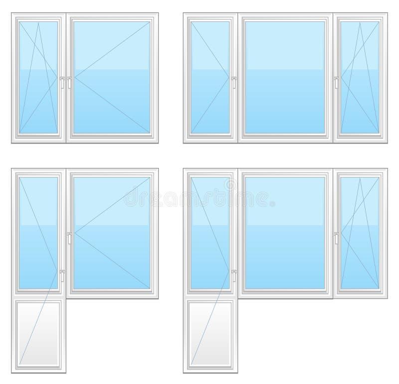Plastic Window Stock Images