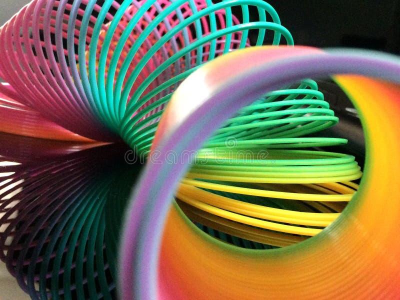 Plastic worm die wormhole vertegenwoordigen royalty-vrije stock foto's
