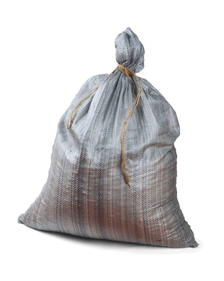 Plastic woven sack stock photography