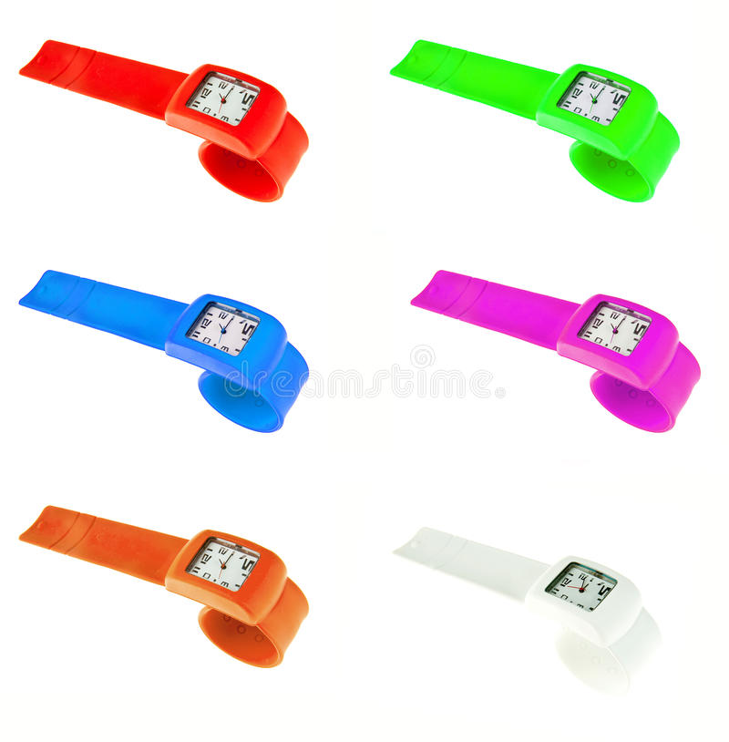 Download Plastic wrist watches stock image. Image of minute, elegance - 24601377