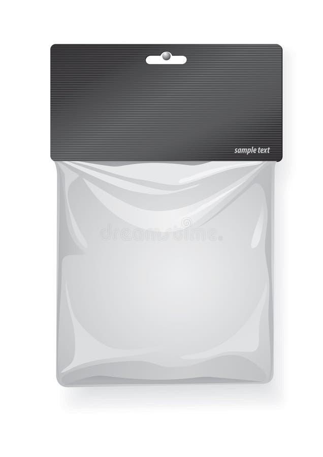 Plastic zak vector illustratie