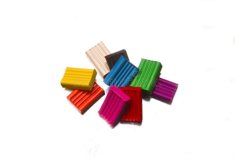 Plasticine fotografie stock