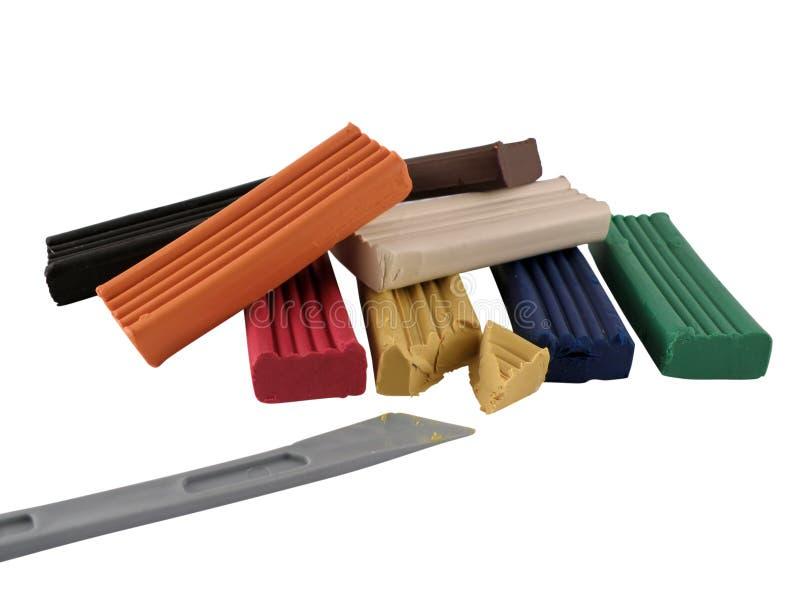 Plasticine stock fotografie