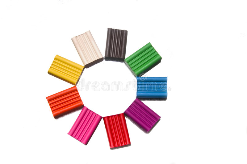 Plasticine lizenzfreies stockfoto