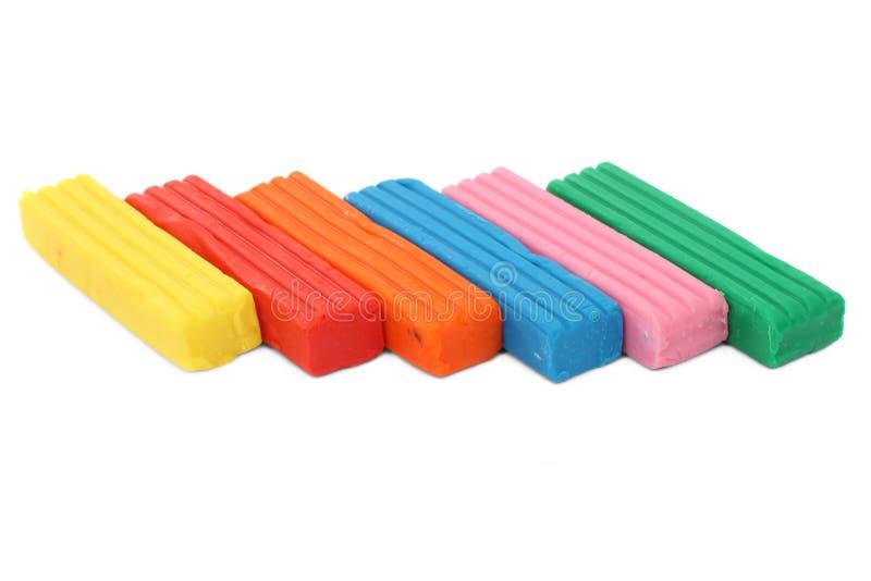 Plasticine imagem de stock