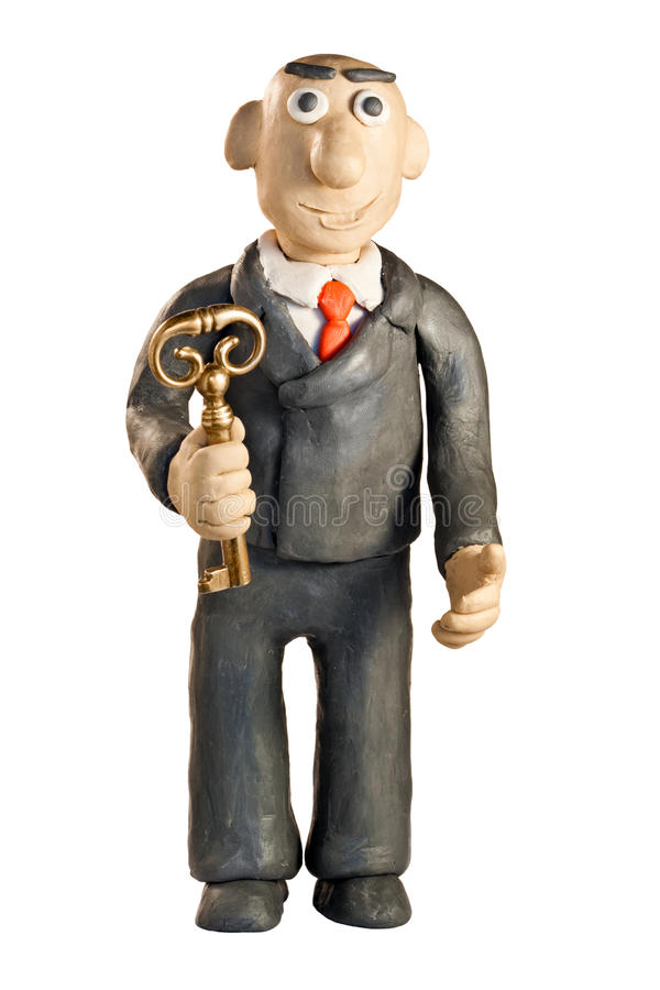 Download Plasticine businessman stock photo. Image of shot, office - 12037516