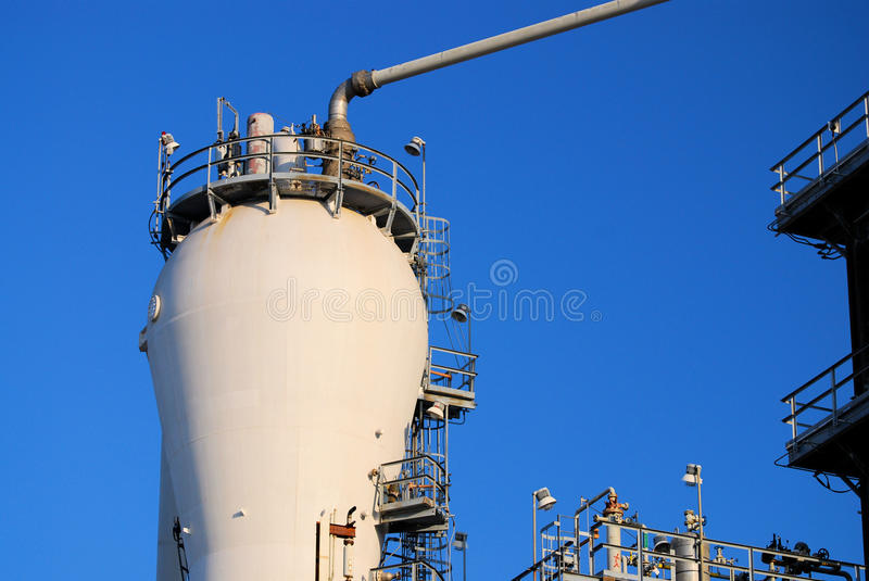 Download Plastics Plant stock image. Image of corporate, cooling - 12756221