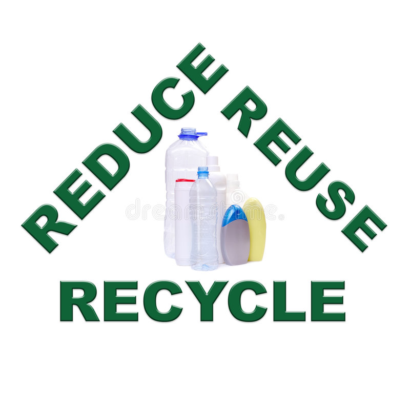 Download Plastics recycling stock illustration. Image of discard - 3883544