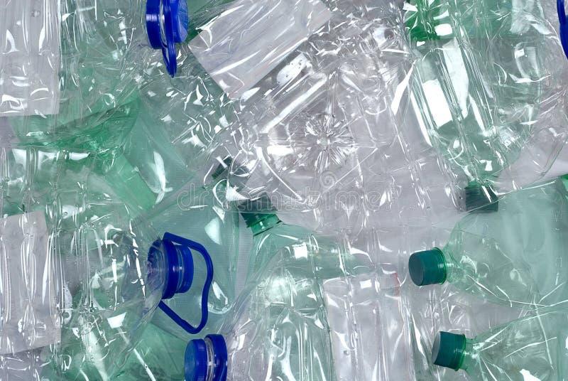 Plastik füllt Hintergrund ab stockbild