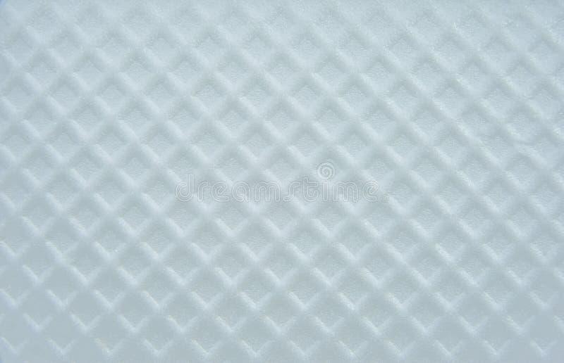 Plastik mit rautenförmiger Oberfläche. lizenzfreie stockfotos