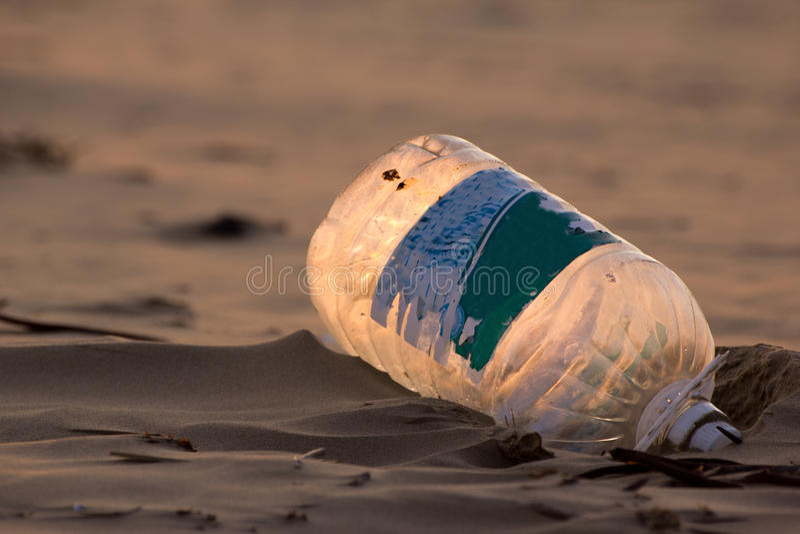 Plastikabfall lizenzfreie stockbilder