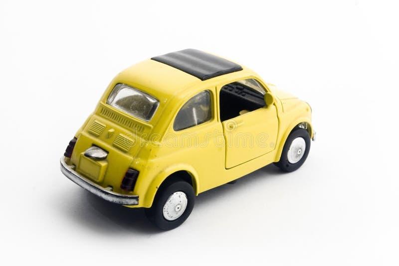 Plastikauto stockbild