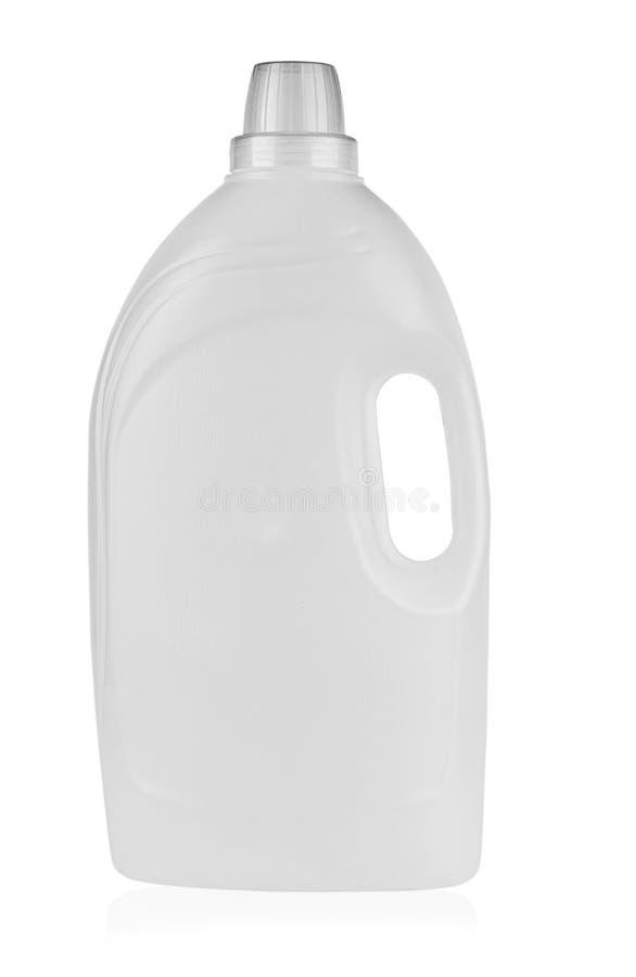 Plastikbehälter für Reinigungsmittel lizenzfreie stockbilder