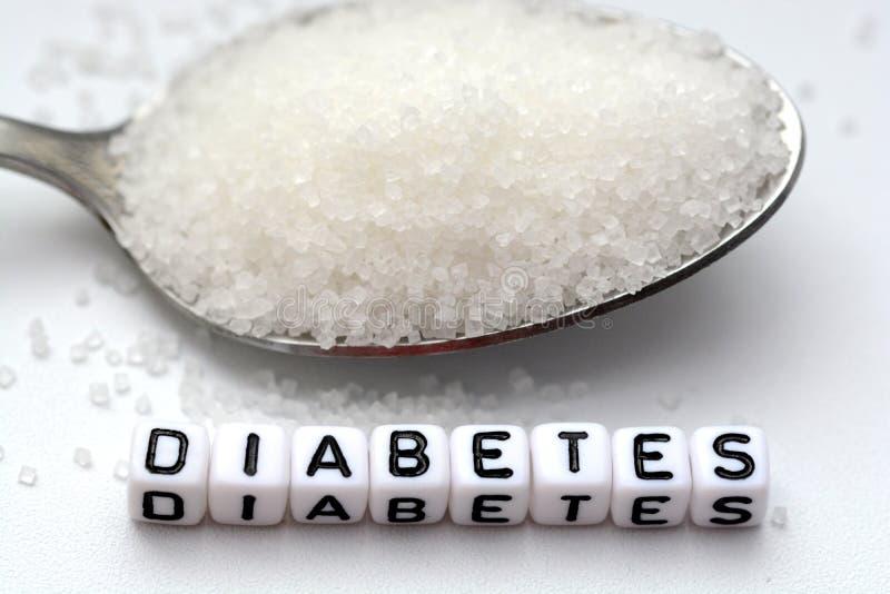 """Plastikbuchstabe bördelt die Rechtschreibung des Wort """"diabetes† lizenzfreie stockbilder"""