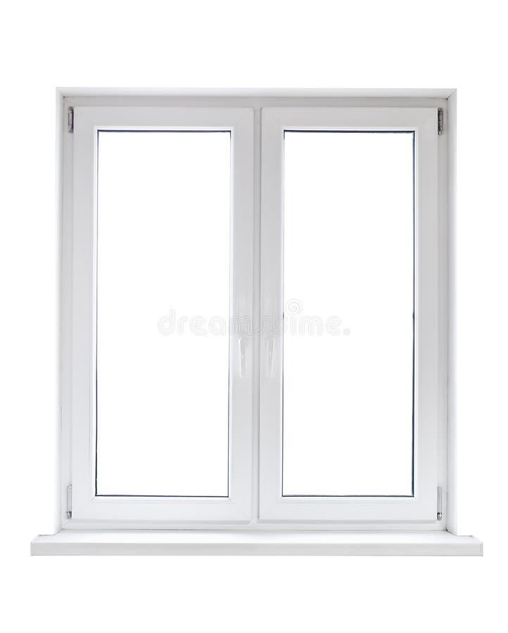 Plastikfenster stockfoto