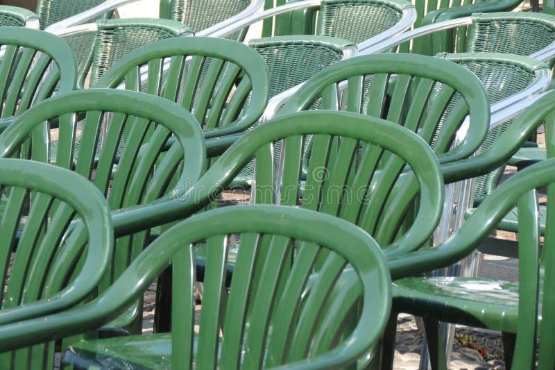 Plastikowa krzesło widownia obraz royalty free