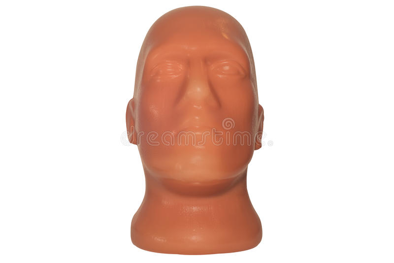 Plastikowa mannequin głowa zdjęcie stock