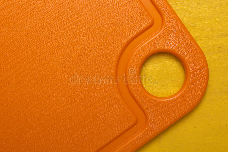 Plastikowa nowożytna tnąca deska obrazy stock