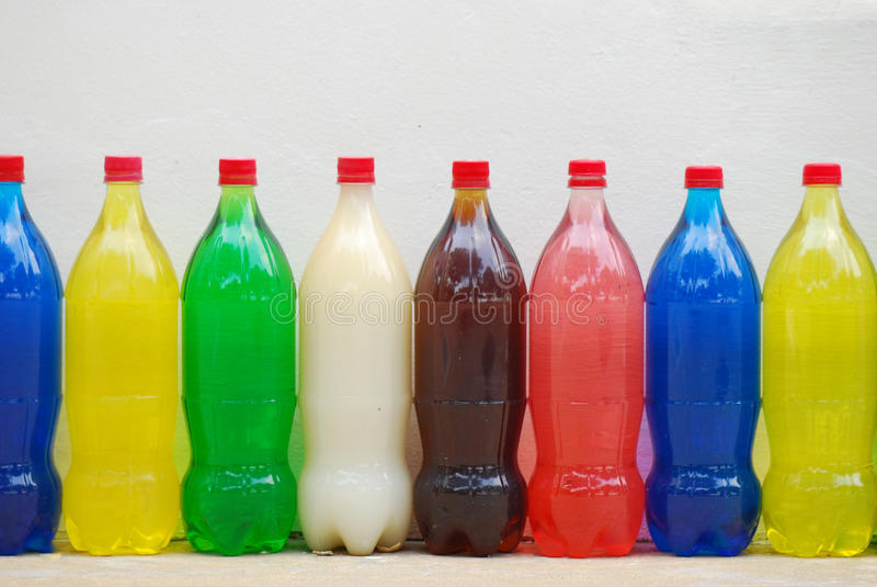 Plastikowe Butelki obrazy stock