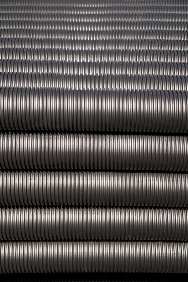 plastikowe czarny drymby fotografia stock