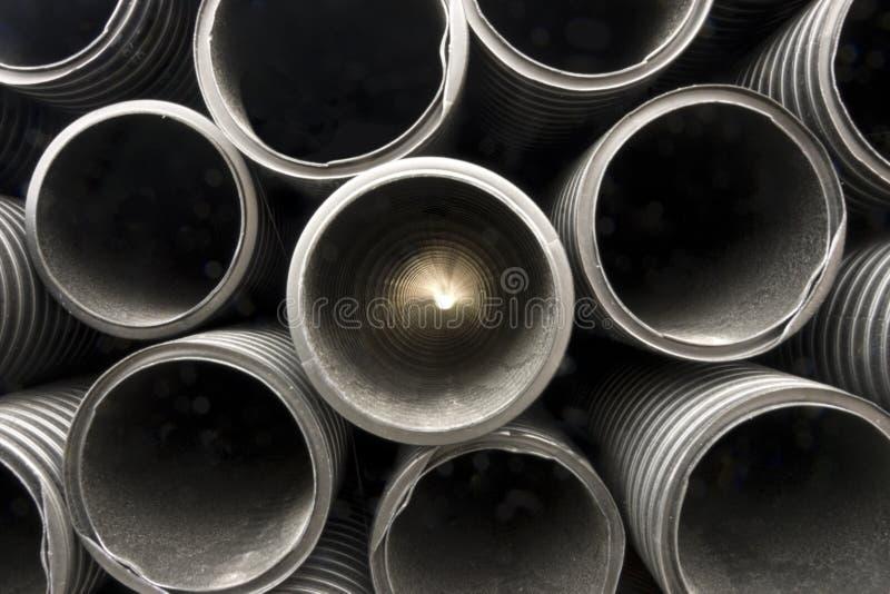 plastikowe czarny drymby zdjęcie royalty free