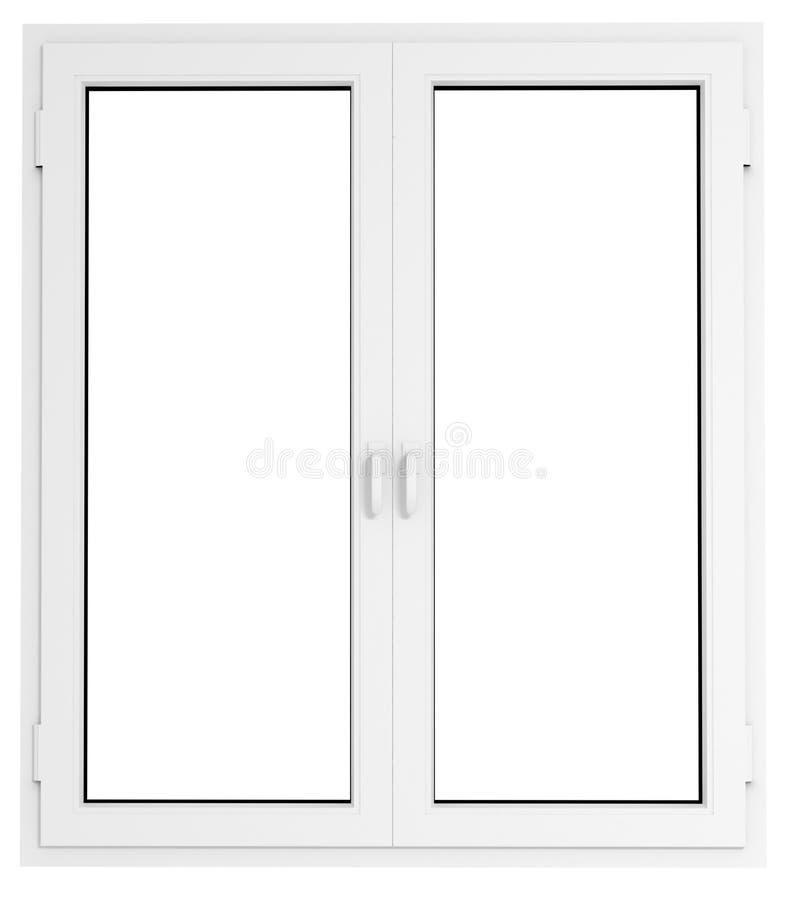 plastikowe okno zdjęcia stock