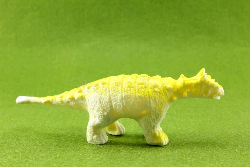 Plastikowi dinosaury fotografia stock