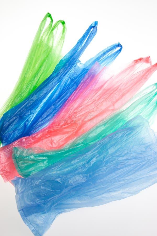 Plastikowi worki obrazy stock