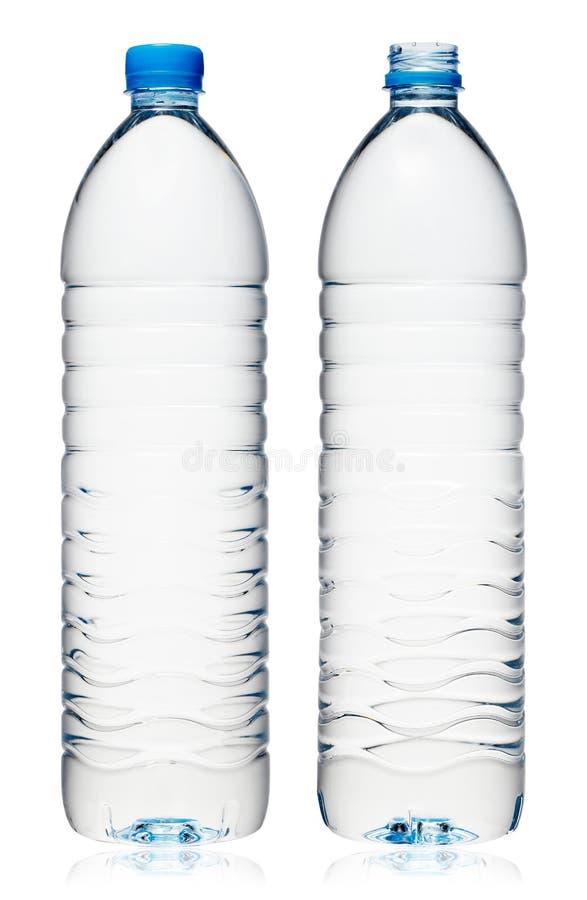 Plastikowy bidon zdjęcie stock