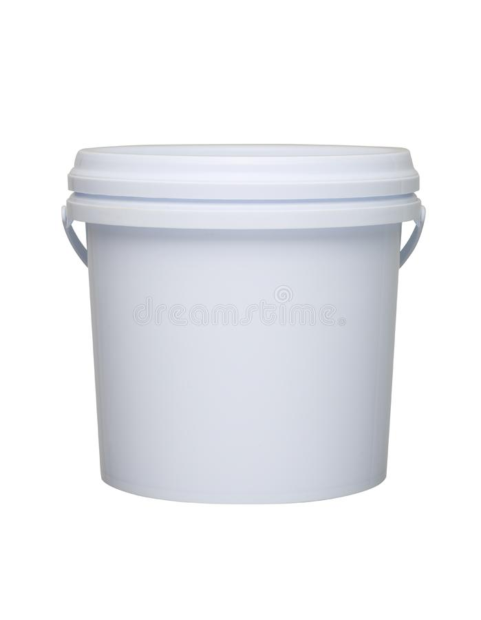 Plastikowy pail obrazy stock