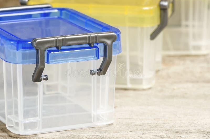 Plastikowy pudełko zdjęcia royalty free