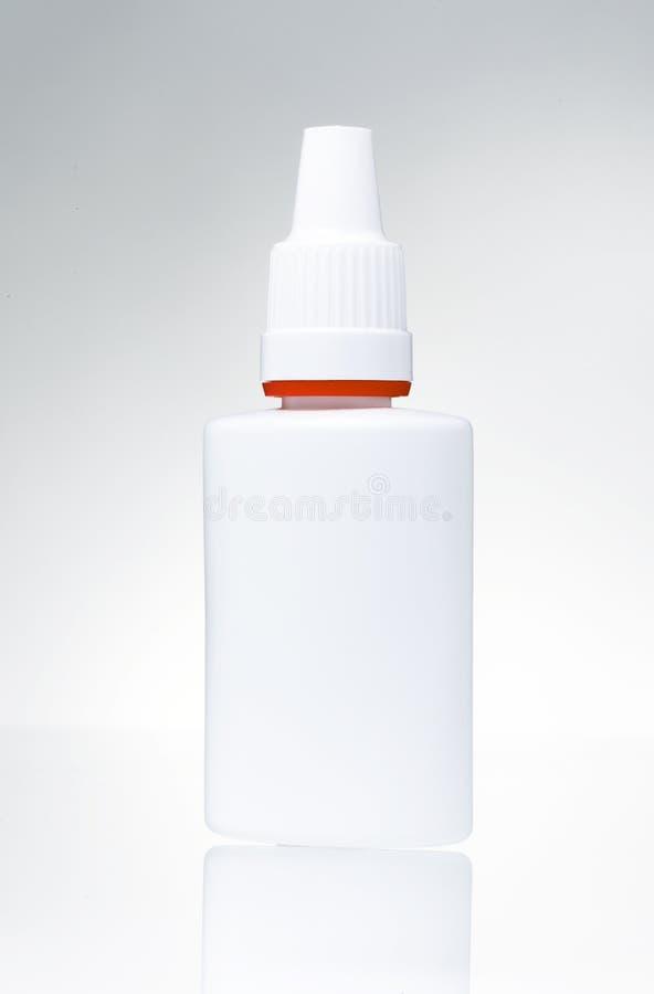 Plastikowy słój obrazy stock