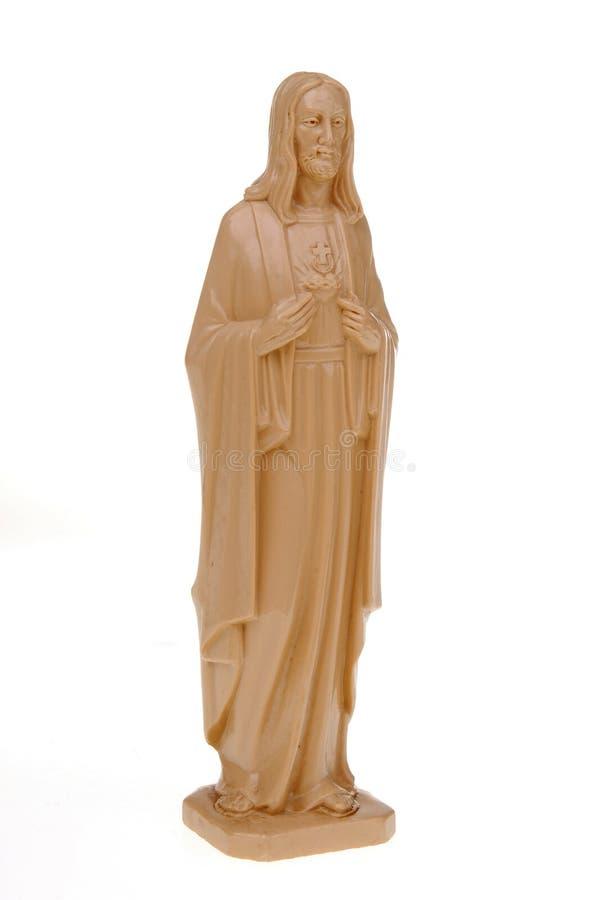 Plastikstatue von Jesus lizenzfreie stockfotografie
