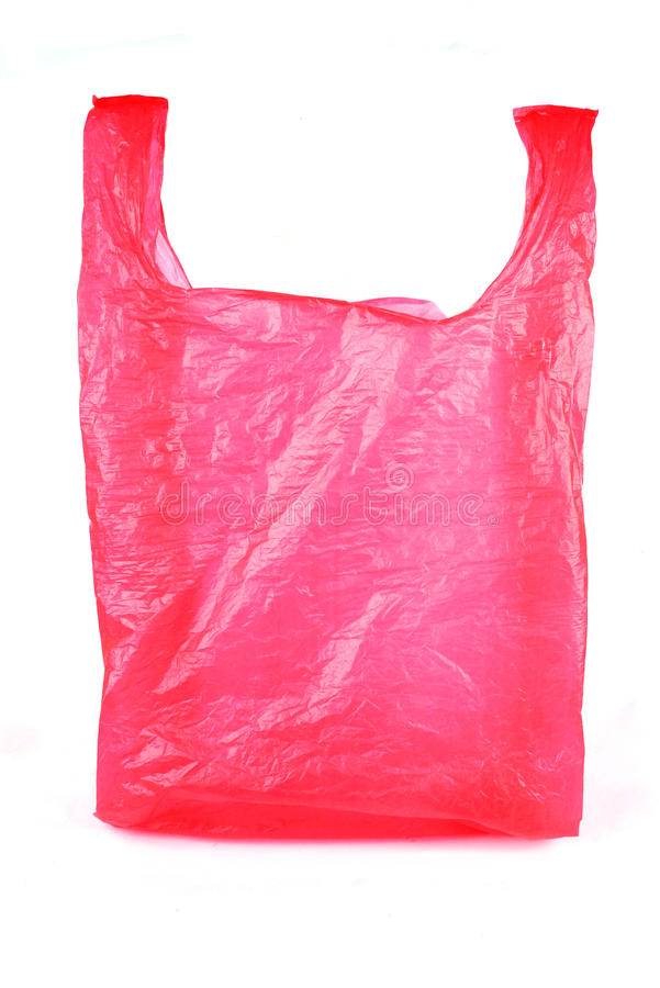 Plastiktasche lizenzfreie stockbilder