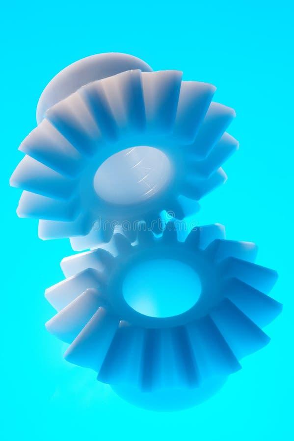 Plastikzähne lizenzfreies stockfoto